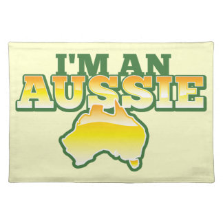私はオーストラリア人です! ランチョンマット
