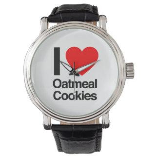 私はオートミールクッキーを愛します 腕時計