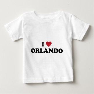 私はオーランドフロリダを愛します ベビーTシャツ