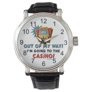私はカジノに行っています! 腕時計