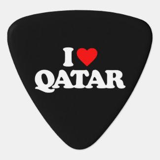 私はカタールを愛します ギターピック