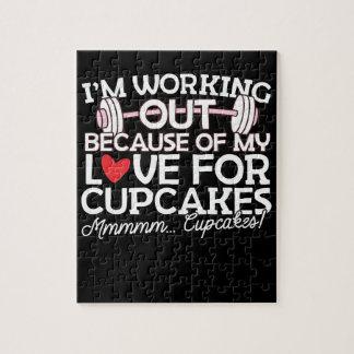 私はカップケーキのための私の愛のために解決しています ジグソーパズル