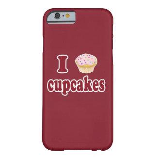 私はカップケーキのiPhone 6/6sを愛します Barely There iPhone 6 ケース