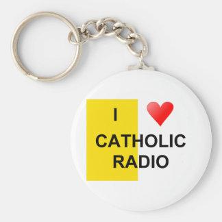 私はカトリック教のラジオを愛します キーホルダー