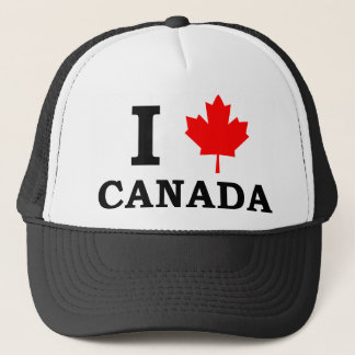 私はカナダを愛します キャップ