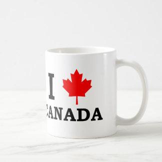 私はカナダを愛します コーヒーマグカップ