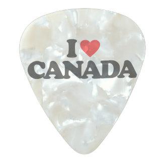 私はカナダを愛します パールセルロイド ギターピック