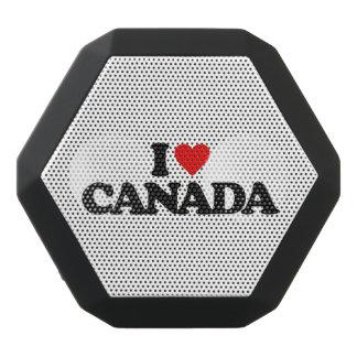 私はカナダを愛します ブラックBluetoothスピーカー