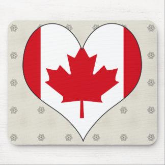 私はカナダを愛します マウスパッド