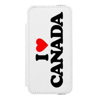 私はカナダを愛します INCIPIO WATSON™ iPhone 5 財布 ケース