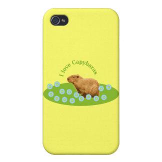 私はカピバラを愛します iPhone 4/4S CASE