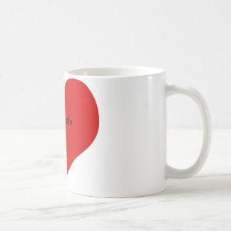 私はカフェを愛します コーヒーマグカップ