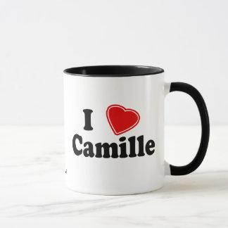 私はカミーユを愛します マグカップ