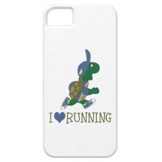 私はカメを走ることを愛します iPhone SE/5/5s ケース