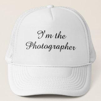 """""""私はカメラマン""""の帽子です キャップ"""