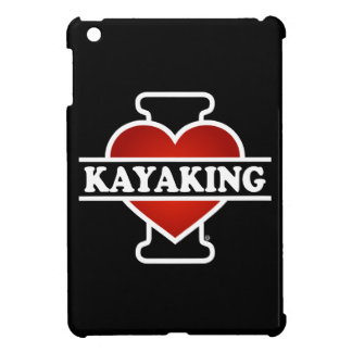 私はカヤックを漕ぐことを愛します iPad MINI カバー