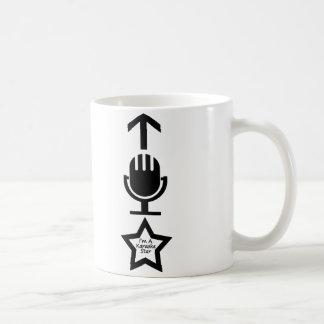 私はカラオケの星です コーヒーマグカップ