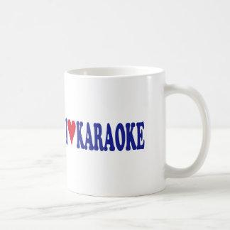 私はカラオケを愛します コーヒーマグカップ