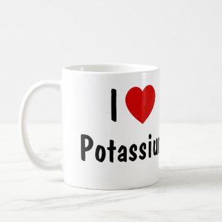 私はカリウムを愛します コーヒーマグカップ