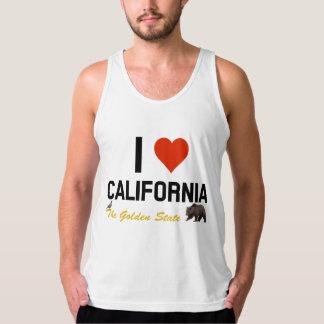 私はカリフォルニアを愛します タンクトップ