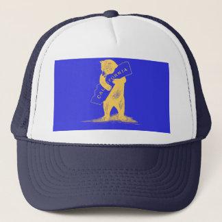 私はカリフォルニア愛します--青および金ゴールド キャップ
