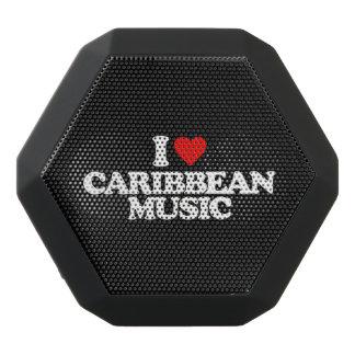 私はカリブのな音楽を愛します ブラックBluetoothスピーカー
