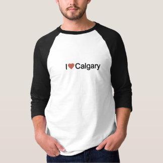 私はカルガリーを愛します Tシャツ