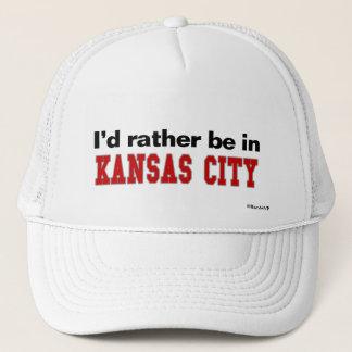 私はカンザスシティにむしろいます キャップ