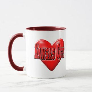 私はカンザスシティを愛します マグカップ