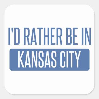 私はカンザスシティMOにむしろいます スクエアシール