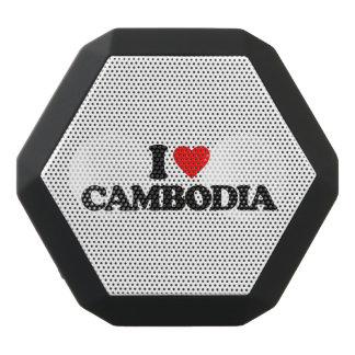 私はカンボジアを愛します ブラックBluetoothスピーカー
