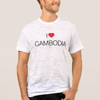 私はカンボジアを愛します Tシャツ