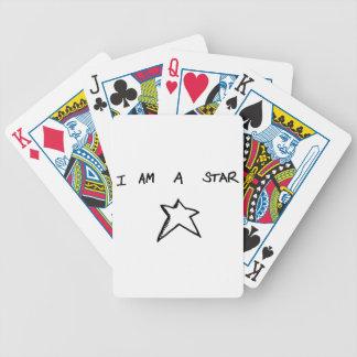 私はカードを遊ぶ星です バイスクルトランプ