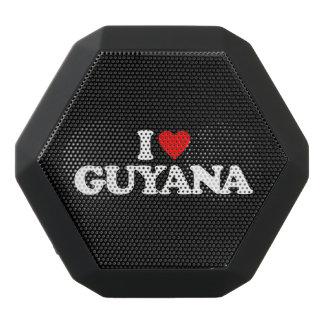 私はガイアナを愛します ブラックBluetoothスピーカー