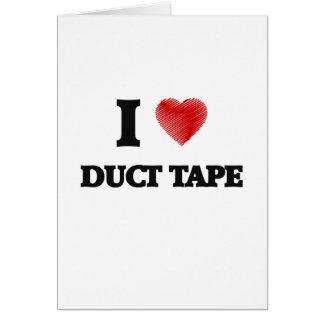 私はガムテープを愛します グリーティングカード