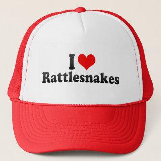 私はガラガラヘビを愛します キャップ