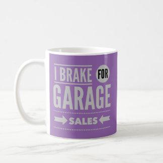 私はガレージセールのマグのためにブレーキがかかります コーヒーマグカップ
