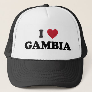 私はガンビアを愛します キャップ