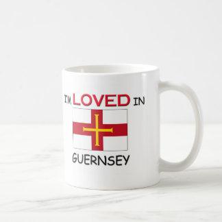 私はガーンジーで愛されます コーヒーマグカップ