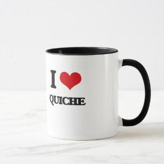 私はキッシュを愛します マグカップ