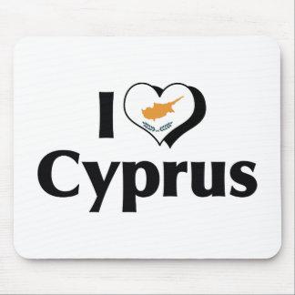 私はキプロスの旗を愛します マウスパッド