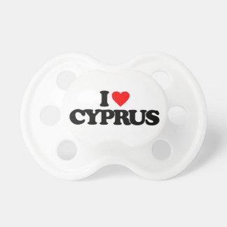 私はキプロスを愛します おしゃぶり
