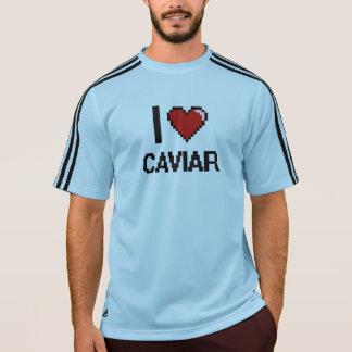 私はキャビアを愛します Tシャツ