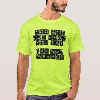 私はキャベツではないです Tシャツ