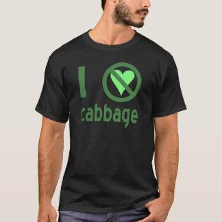 私はキャベツを憎みます Tシャツ