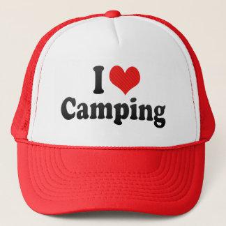 私はキャンプすることを愛します キャップ