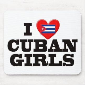 私はキューバの女の子を愛します マウスパッド