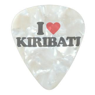私はキリバス共和国を愛します パールセルロイド ギターピック