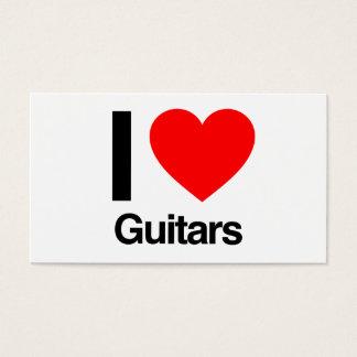 私はギターを愛します 名刺