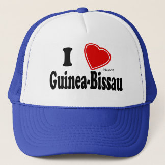私はギニア-ビサウを愛します キャップ